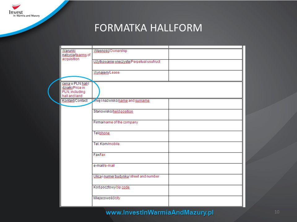www.InvestInWarmiaAndMazury.pl 10