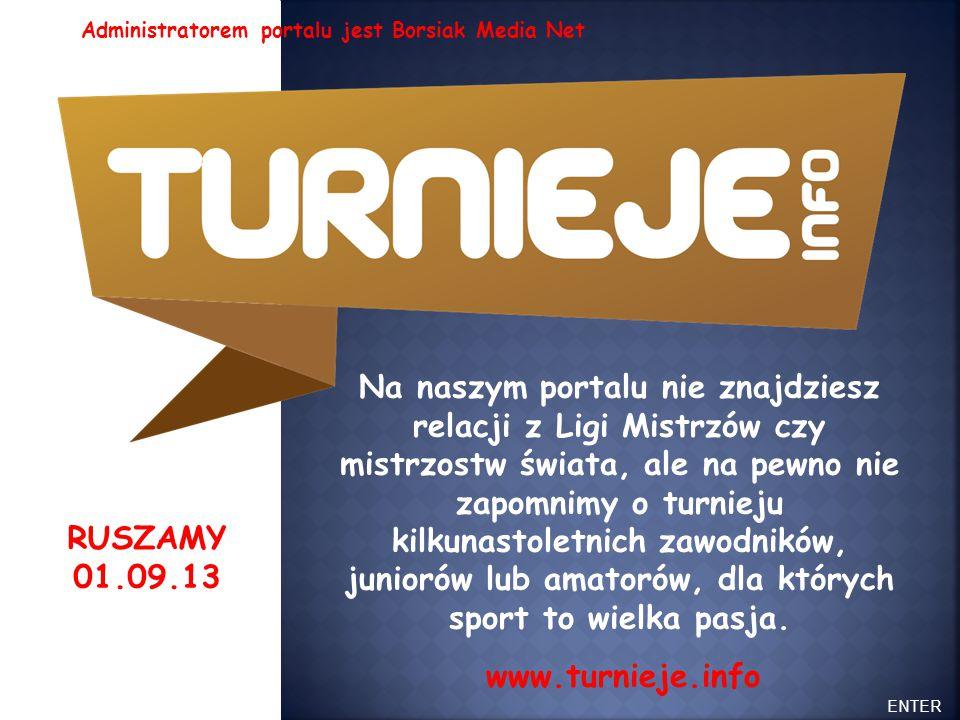 ENTER Zapowiedzi, informacje, relacje. Imprezy ogólnopolskie, wojewódzkie, regionalne i inne.