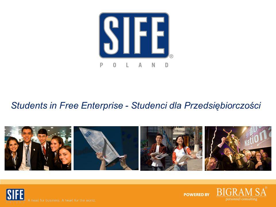 Students in Free Enterprise - Studenci dla Przedsiębiorczości POWERED BY