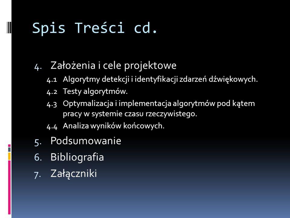 Spis Treści cd.4.