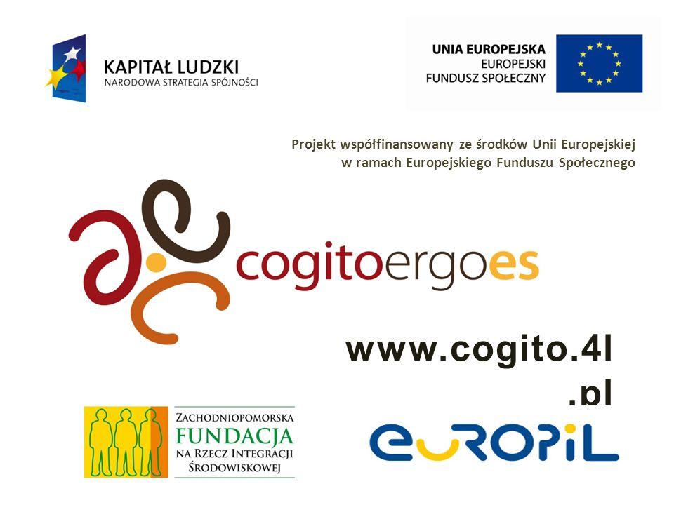 Projekt współfinansowany ze środków Unii Europejskiej w ramach Europejskiego Funduszu Społecznego Wzmocnienie kompetencji społecznych uczestników podmiotów es ADAPTACYJNOŚĆ ex-anteex-post