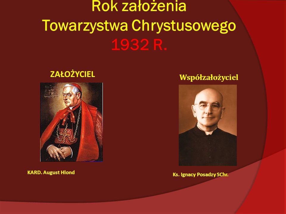 Towarzystwo Chrystusowe dla Polonii Zagranicznej w Poznaniu
