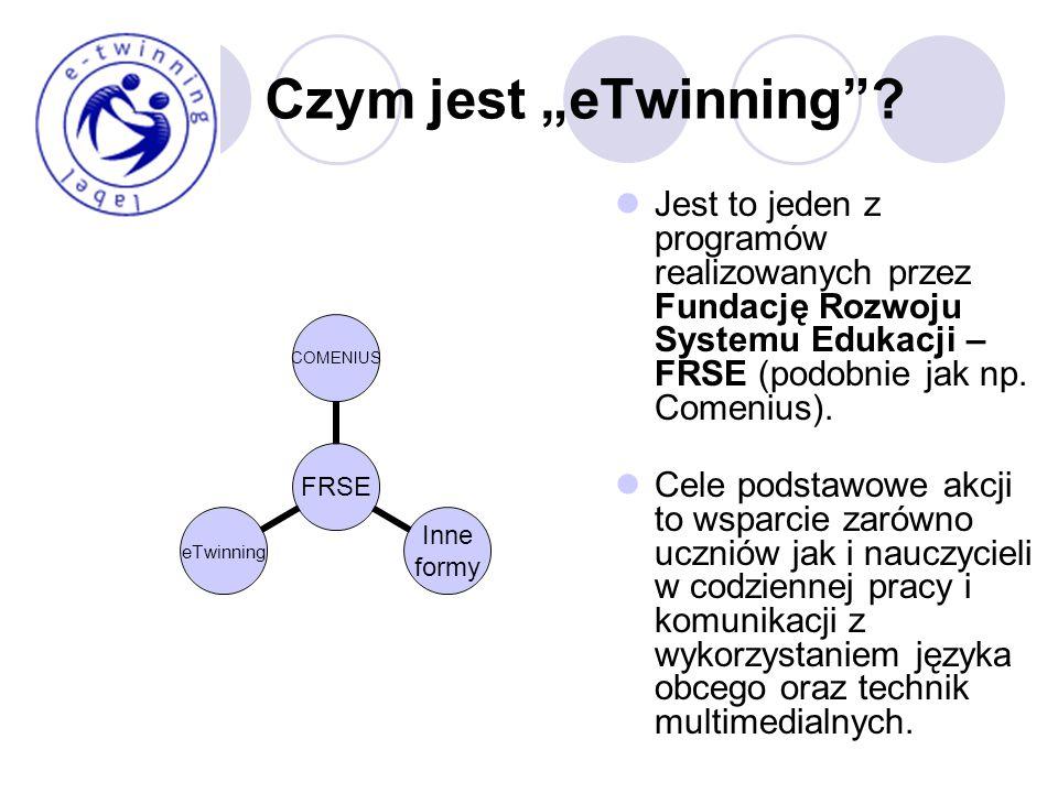 Jak przystąpić do akcji? www.etwinning.net