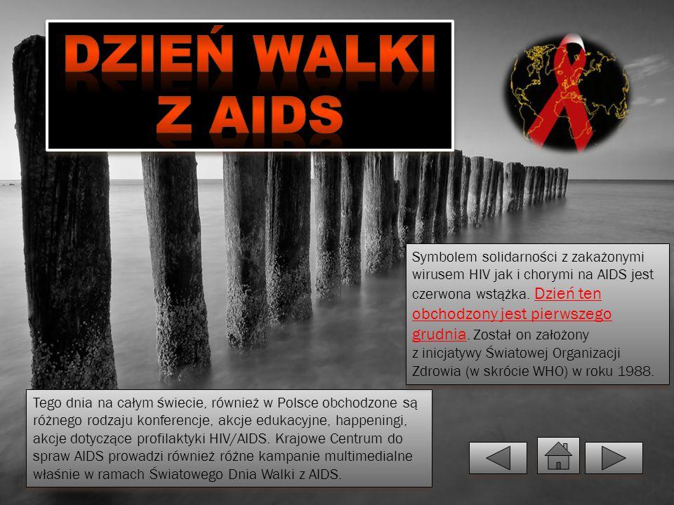 Tego dnia na całym świecie, również w Polsce obchodzone są różnego rodzaju konferencje, akcje edukacyjne, happeningi, akcje dotyczące profilaktyki HIV