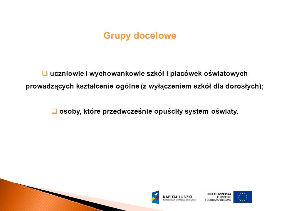 Kryteria dostępu: Plan Działania na 2010 – dz.9.1.2 1.