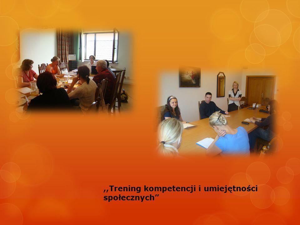 ,,Trening kompetencji i umiejętności społecznych