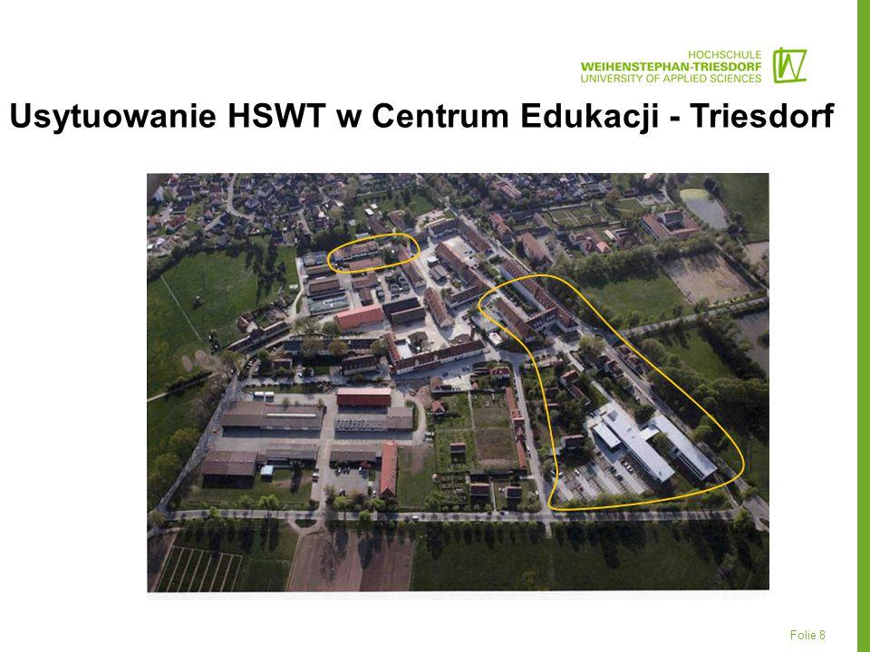 Folie 8 Usytuowanie HSWT w Centrum Edukacji - Triesdorf