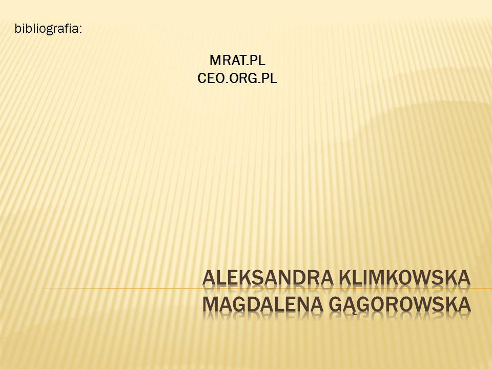 bibliografia: MRAT.PL CEO.ORG.PL