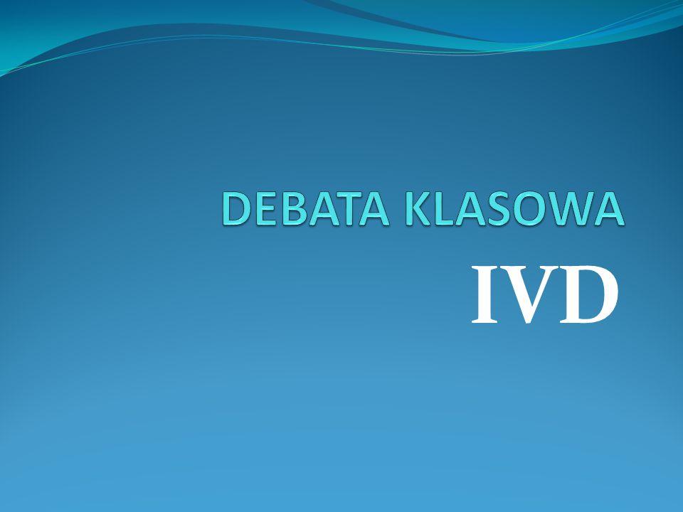 Debata klasowa odbyła się na Lekcji przyrody w dniu 21 listopada