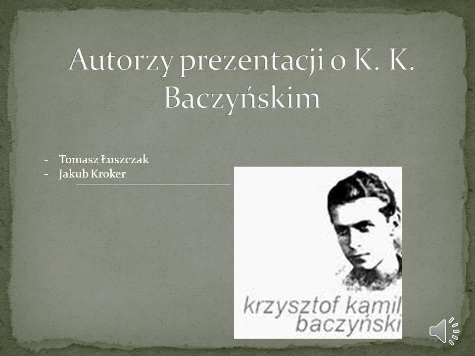 -Tomasz Łuszczak -Jakub Kroker