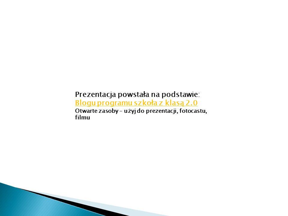 W pracach typu prezentacja, film, zwykle opisujemy wykorzystane materiały w ostatnim slajdzie czy w napisach końcowych.