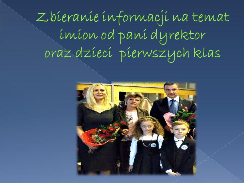 Najpopularniejszymi imionami są: Wśród chłopców - Kacper (13,46 %), Maciej (9,62 %) oraz Patryk i Konrad (5,77 %) Wśród dziewcząt prym niewątpliwie wiedzie imię Wiktoria – 10 osób (18,2 %); popularne są też imiona – Aleksandra (10,9 %) oraz Amelia (7,27 %) Badanie imion przeprowadzono wśród 107 uczniów klas I Szkoły Podstawowej w Żmigrodzie (rocznik 2004 i 2005) 52 chłopców oraz 55 dziewcząt