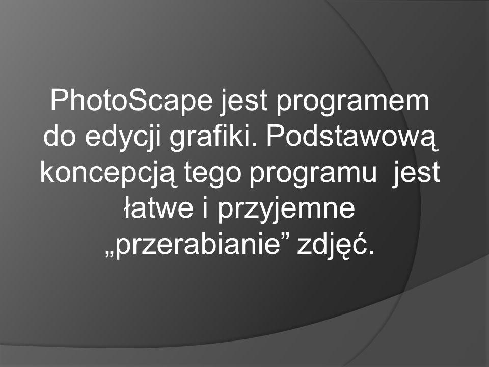 """PhotoScape jest programem do edycji grafiki. Podstawową koncepcją tego programu jest łatwe i przyjemne """"przerabianie"""" zdjęć."""