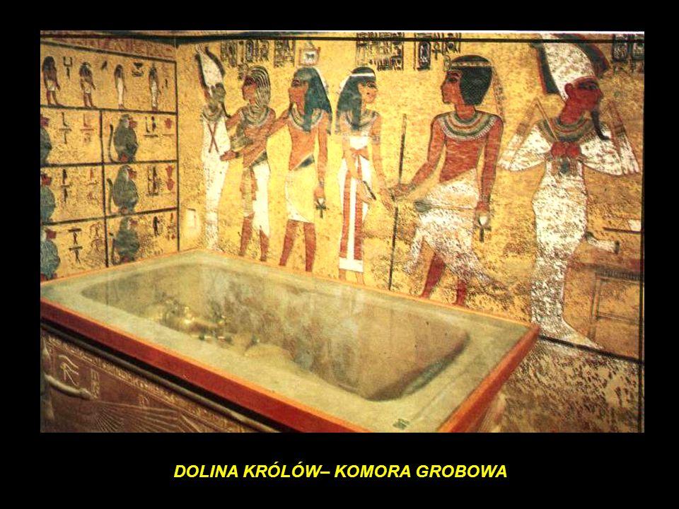 Tutankhamon Badania mumii Tutanchamona wykazały, że zmarł młodo, mając około 19 lat