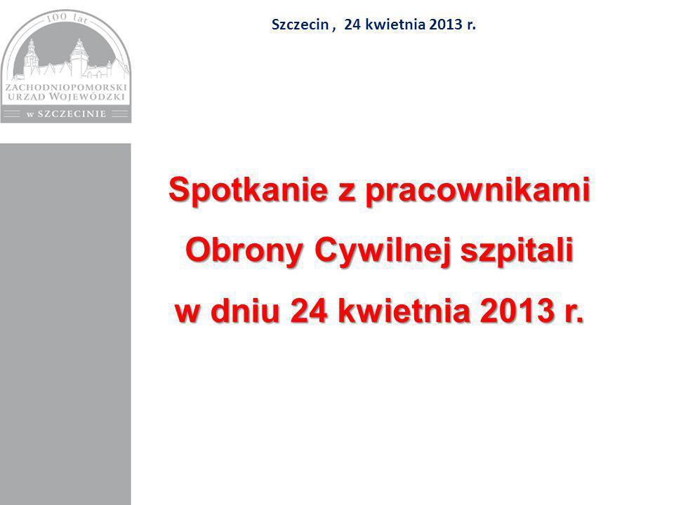Szczecin, 24 kwietnia 2013 r.