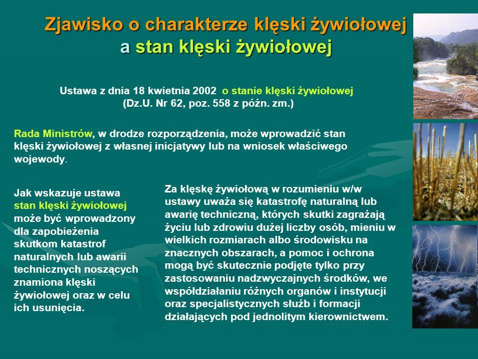 Szacowanie szkód w województwie w 2011 r.: - Gminy złożyły 91 wniosków do Wojewody o uruchomienie Komisji do szacowania strat powstałych w gospodarstwach rolnych województwa zachodniopomorskiego w wyniku następujących zjawisk: powódź, przymrozki wiosenne, ujemne skutki przezimowania, susza, gradobicie i deszcze nawalne- Gminy złożyły 91 wniosków do Wojewody o uruchomienie Komisji do szacowania strat powstałych w gospodarstwach rolnych województwa zachodniopomorskiego w wyniku następujących zjawisk: powódź, przymrozki wiosenne, ujemne skutki przezimowania, susza, gradobicie i deszcze nawalne - 6 wniosków Wojewody do Ministra Rolnictwa i Rozwoju Wsi o zgodę na uruchomienie preferencyjnej linii kredytowej dla poszkodowanych rolników w łącznej wysokości 104 377 432,63 zł, dla 1291 gospodarstw ubiegających się o kredyty preferencyjne, spośród 1600 gospodarstw poszkodowanych.- 6 wniosków Wojewody do Ministra Rolnictwa i Rozwoju Wsi o zgodę na uruchomienie preferencyjnej linii kredytowej dla poszkodowanych rolników w łącznej wysokości 104 377 432,63 zł, dla 1291 gospodarstw ubiegających się o kredyty preferencyjne, spośród 1600 gospodarstw poszkodowanych.