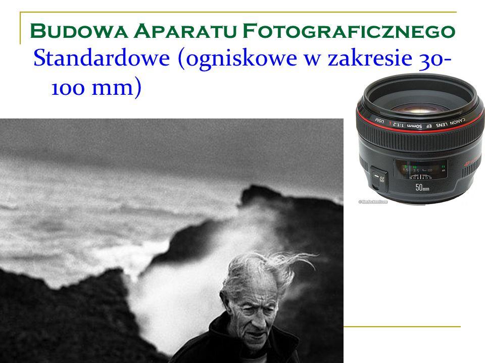 Budowa Aparatu Fotograficznego Standardowe (ogniskowe w zakresie 30- 100 mm)