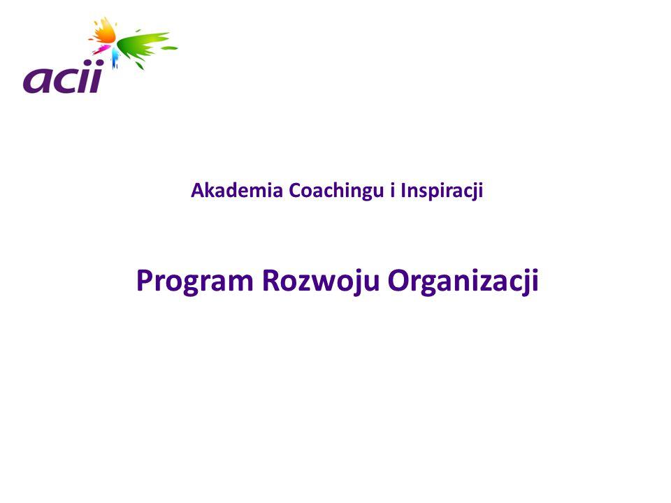 Akademia Coachingu i Inspiracji Program Rozwoju Organizacji
