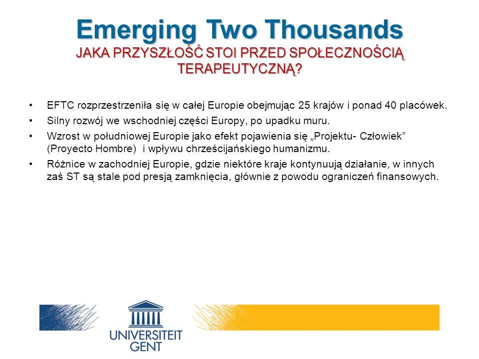 EFTC rozprzestrzeniła się w całej Europie obejmując 25 krajów i ponad 40 placówek.