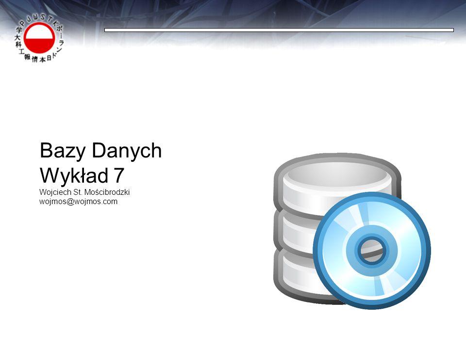 Projektowanie baz danych jako proces  ETAPY:  Ustalenie wymagań odbiorcy  Modelowanie konceptualne  Modelowanie logiczne  Modelowanie fizyczne  Realizacja bazy danych  Testowanie i walidacja
