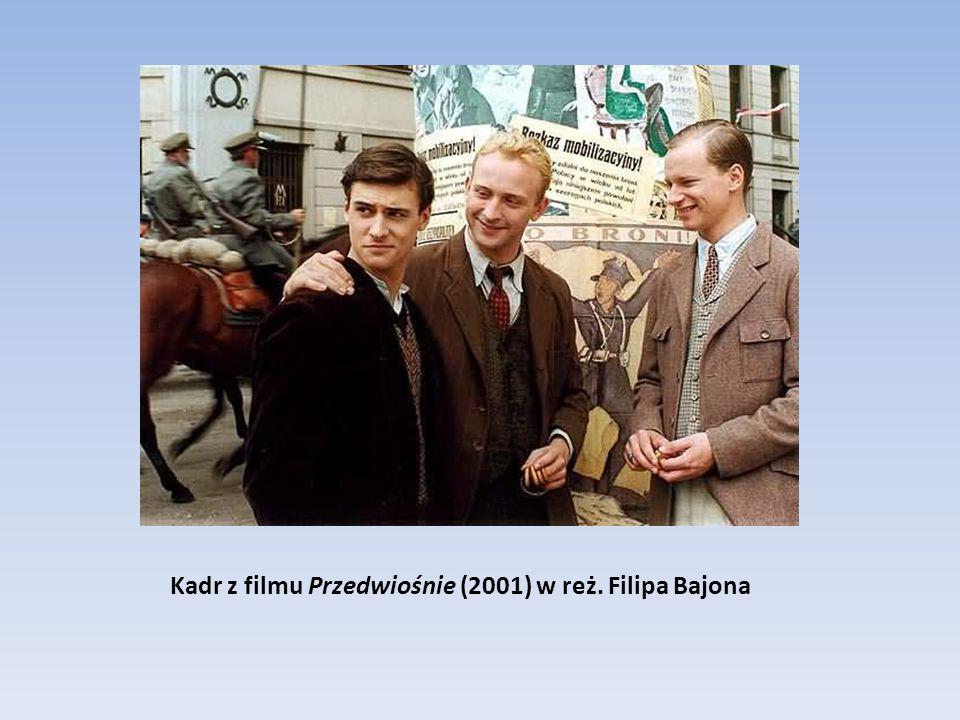 Kadr z filmu Przedwiośnie (2001) w reż. Filipa Bajona