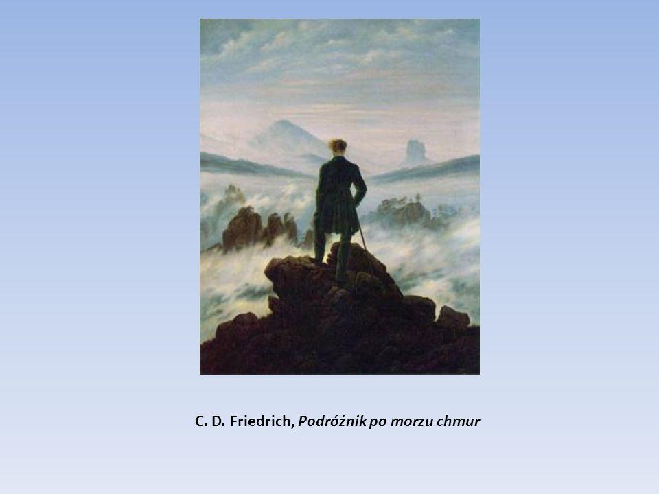 C. D. Friedrich, Podróżnik po morzu chmur