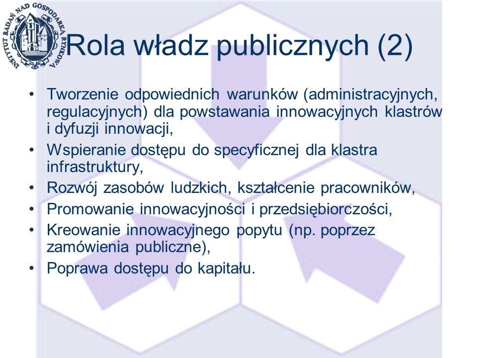 Kliknij, aby edytować styl wzorca tytułu Kliknij, aby edytować styl wzorca podtytułu 8 Polityka wspierająca klastry- dylematy Klastry czy organizacje klastrowe.