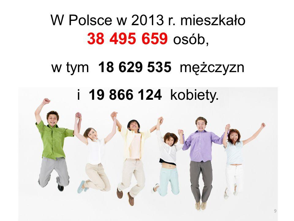 10 A około 3 500 000 B około 4 200 000 C około 2 900 000 Statystycy obliczyli… …ile osób mieszkało w województwie dolnośląskim w 2013 roku.
