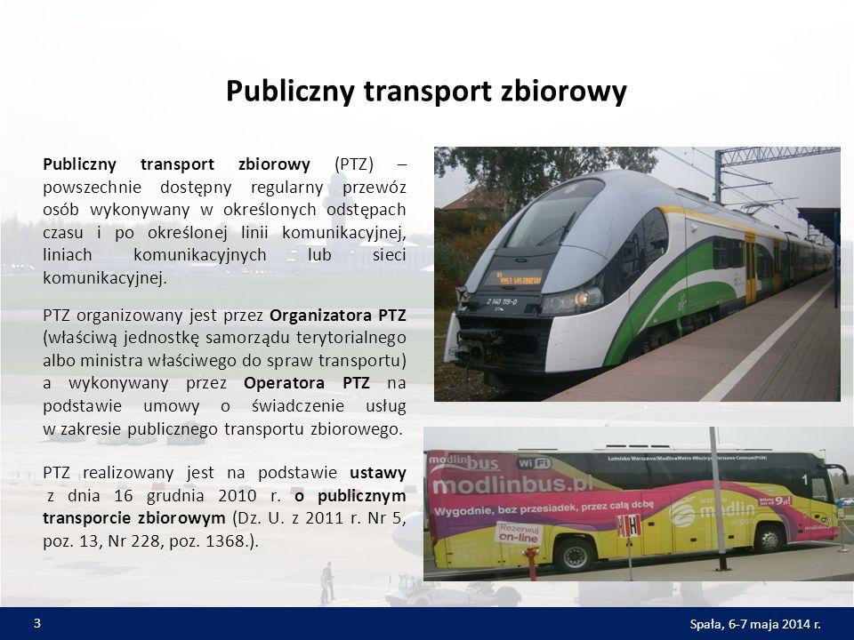 Publiczny transport zbiorowy Publiczny transport zbiorowy (PTZ) – powszechnie dostępny regularny przewóz osób wykonywany w określonych odstępach czasu i po określonej linii komunikacyjnej, liniach komunikacyjnych lub sieci komunikacyjnej.