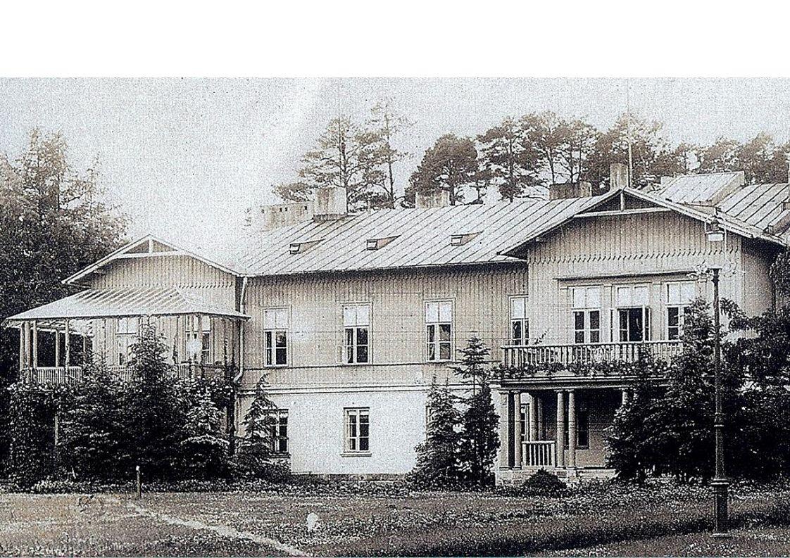 rekonstrukcja pałacu prezydenckiego – elewacja wschodnia