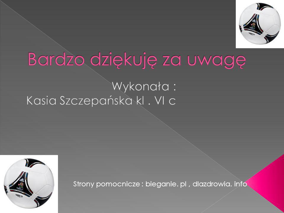 Strony pomocnicze : bieganie. pl, dlazdrowia. info