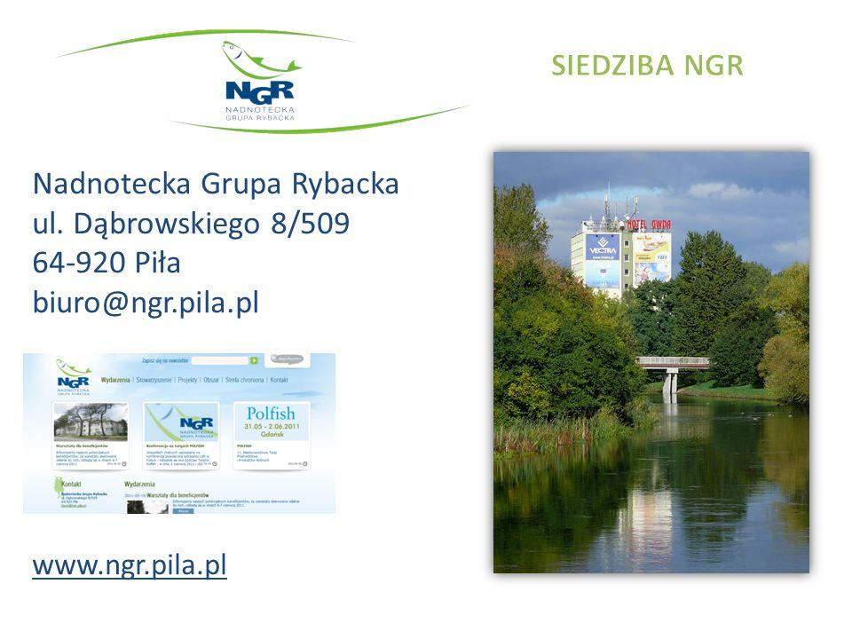 Nadnotecka Grupa Rybacka ul. Dąbrowskiego 8/509 64-920 Piła biuro@ngr.pila.pl www.ngr.pila.pl