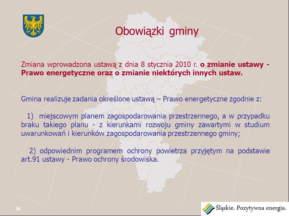 Planowanie i organizacja zaopatrzenia w ciepło, energię elektryczną i paliwa gazowe na obszarze gminy W orzecznictwie sądowym podkreślono, że treść art.