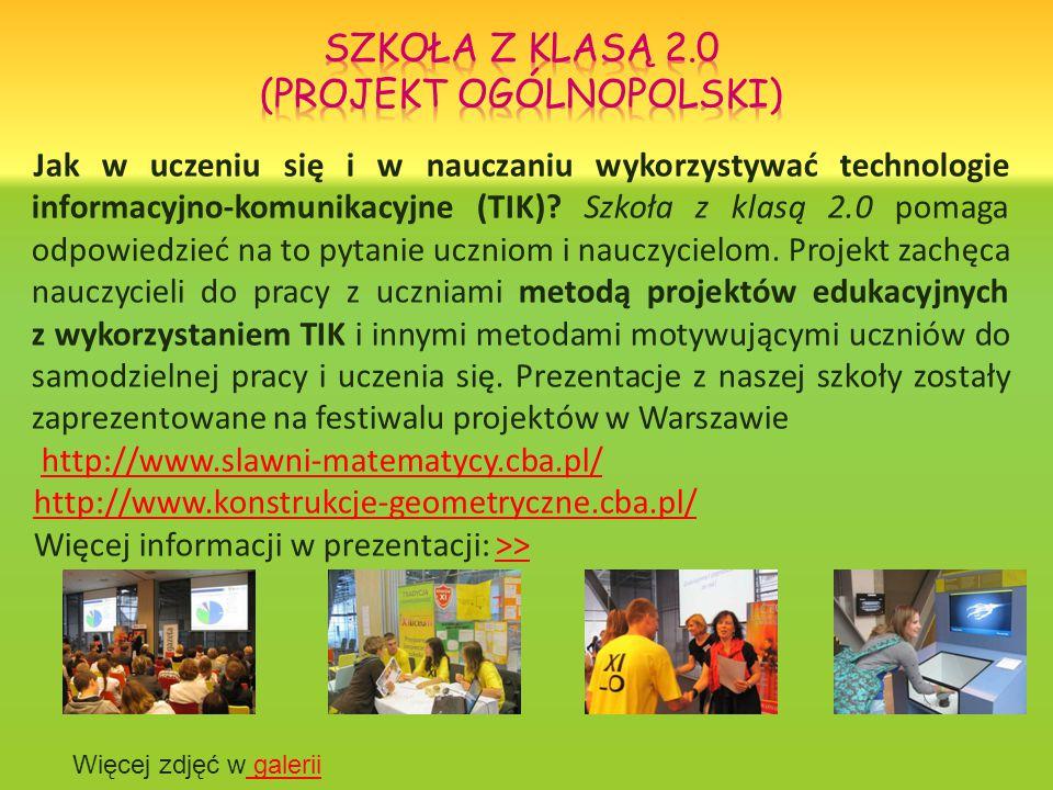 Jak w uczeniu się i w nauczaniu wykorzystywać technologie informacyjno-komunikacyjne (TIK).