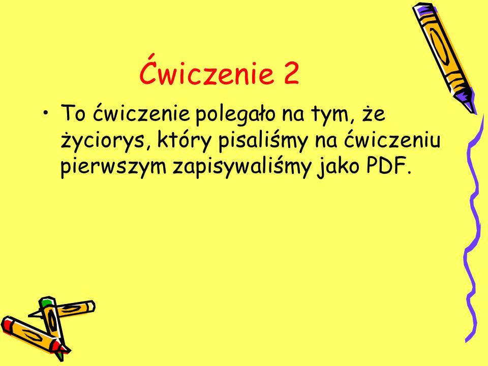 Życiorys jako PDF ŻYCIORYS Nazywam Sie Szymon Burzy.