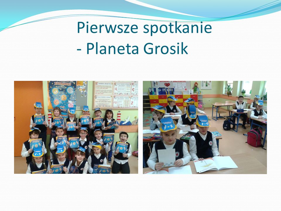 Pierwsze spotkanie - Planeta Grosik
