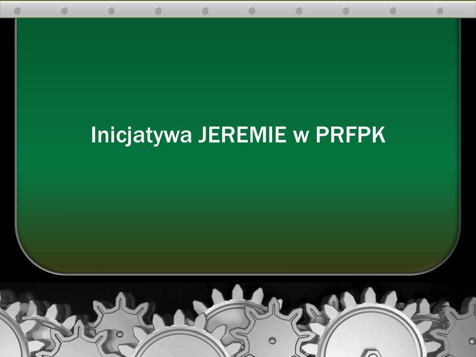 Inicjatywa JEREMIE w PRFPK