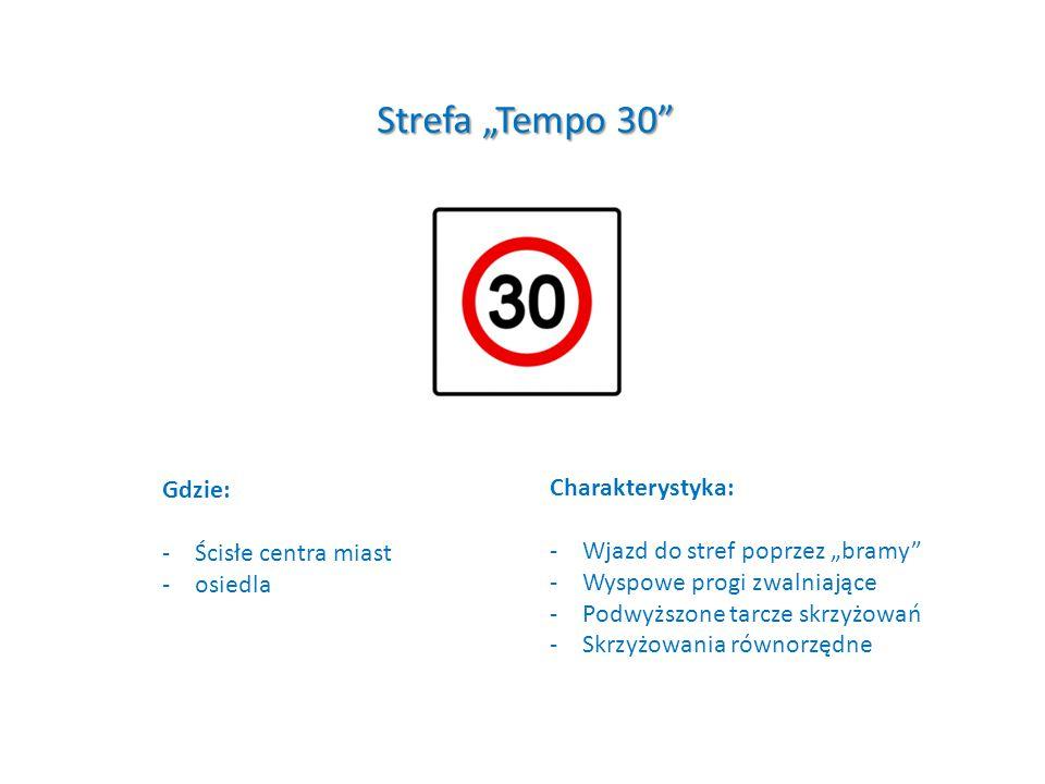 """""""Brama do Strefy """"Tempo 30"""