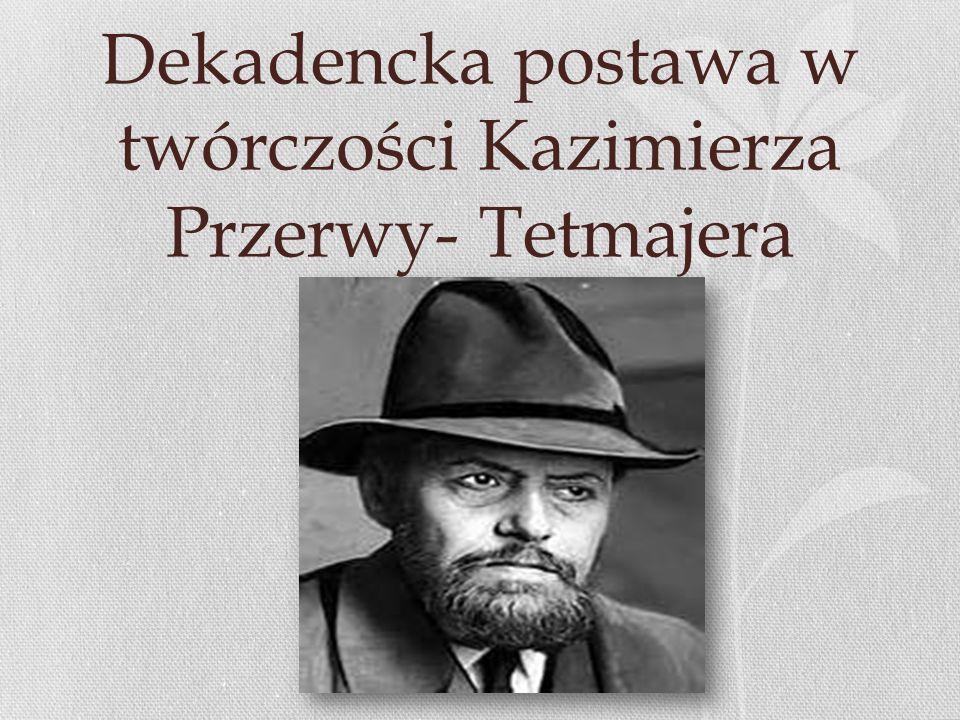 Moralność panów i moralność niewolnicza MORALNOŚĆPANÓW Dostojność Godność osobista Stanowczość Sprawność Pewność działania Bezwzględność w osiąganiu celu MORALNOŚĆ NIEWOLNIKÓW Skłonność do litości Miękkość serca Uległość Altruizm Niepewność Nietzsche podkreślał, że każdy ma taką moralność, jaką ma naturę.