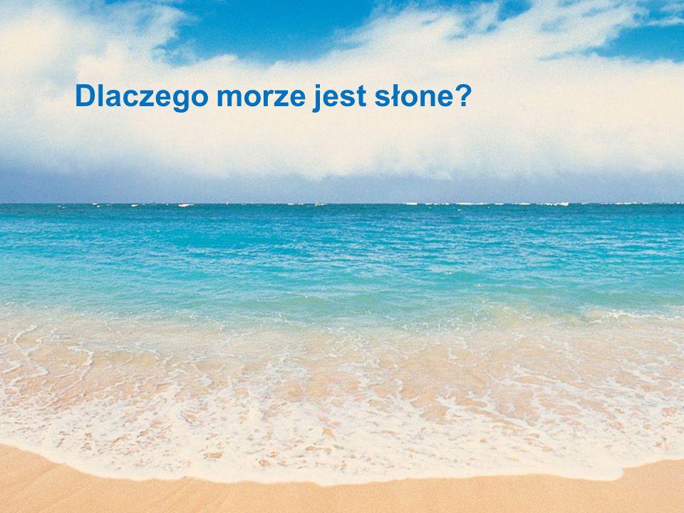 Dlaczego morze jest słone?