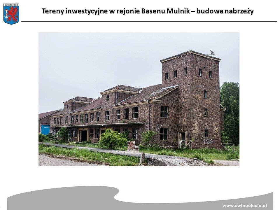 Tereny inwestycyjne w rejonie Basenu Mulnik – budowa nabrzeży