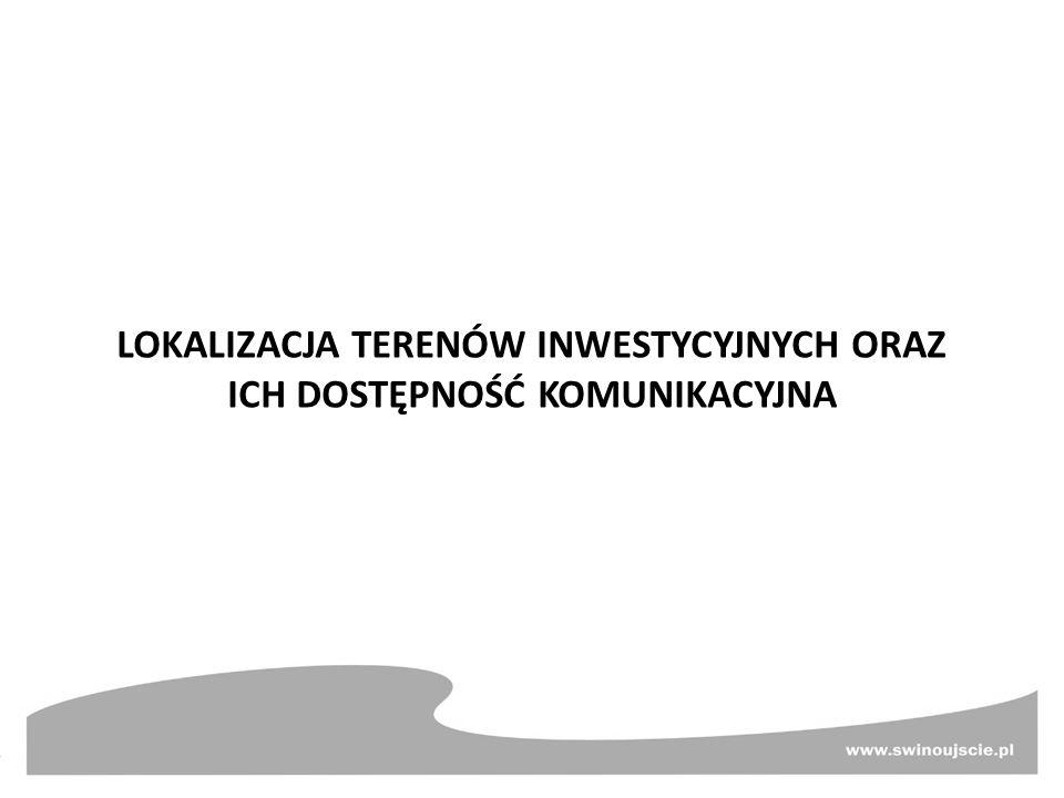 Rewitalizacja powojskowych terenów w celu utworzenia Centrum Usług Mulnik w Świnoujściu Koszt realizacji zadania – 32 100 000 zł ul.