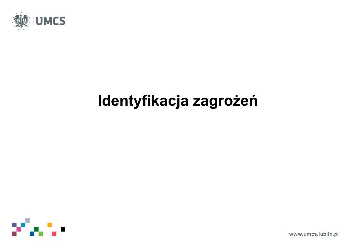 www.umcs.lublin.pl Identyfikacja zagrożeń