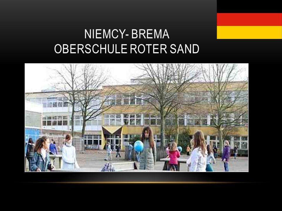 NIEMCY- BREMA OBERSCHULE ROTER SAND