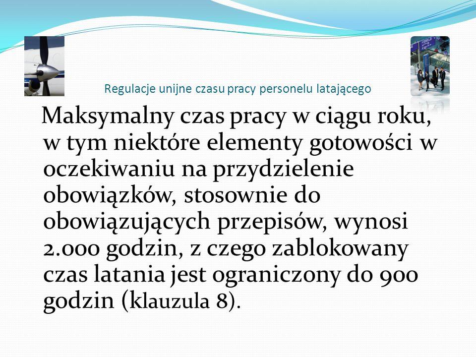Regulacje unijne czasu pracy personelu latającego Dyrektywa 2000/79 jest błędnie przetłumaczona (personel pokładowy zamiast latający). Wbrew użytemu s