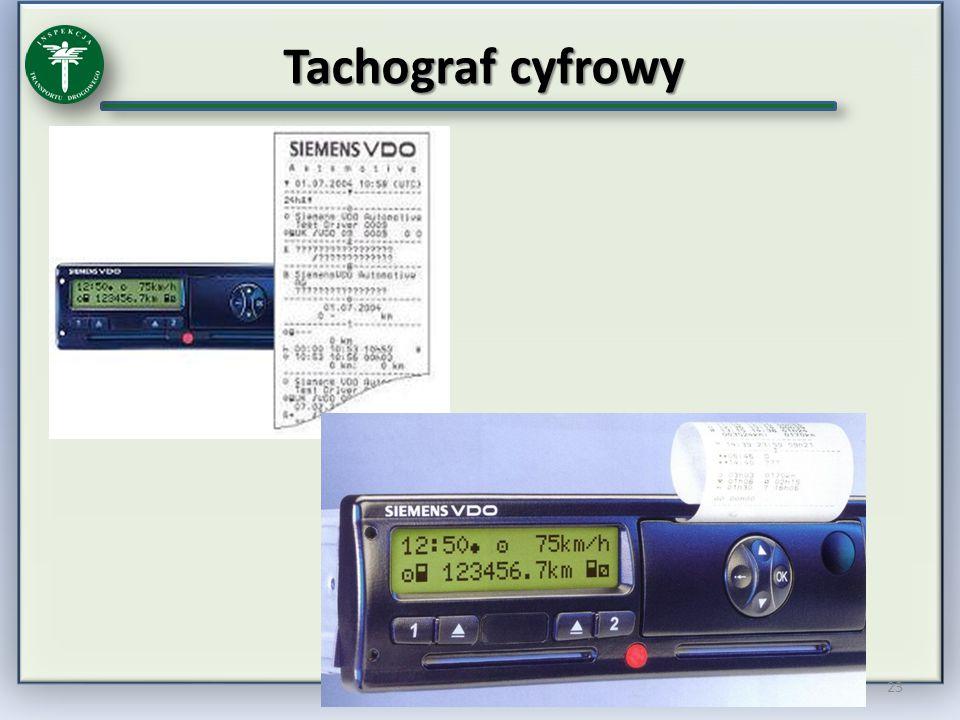 Tachograf cyfrowy 23