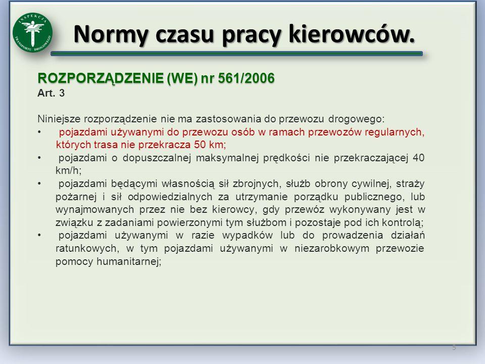 Sankcjonowanie naruszeń KIEROWCA art.92 ust.1 UTD w zw.