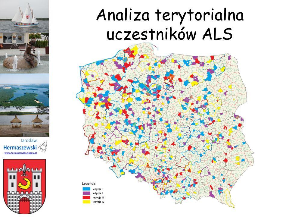 Analiza terytorialna uczestników ALS