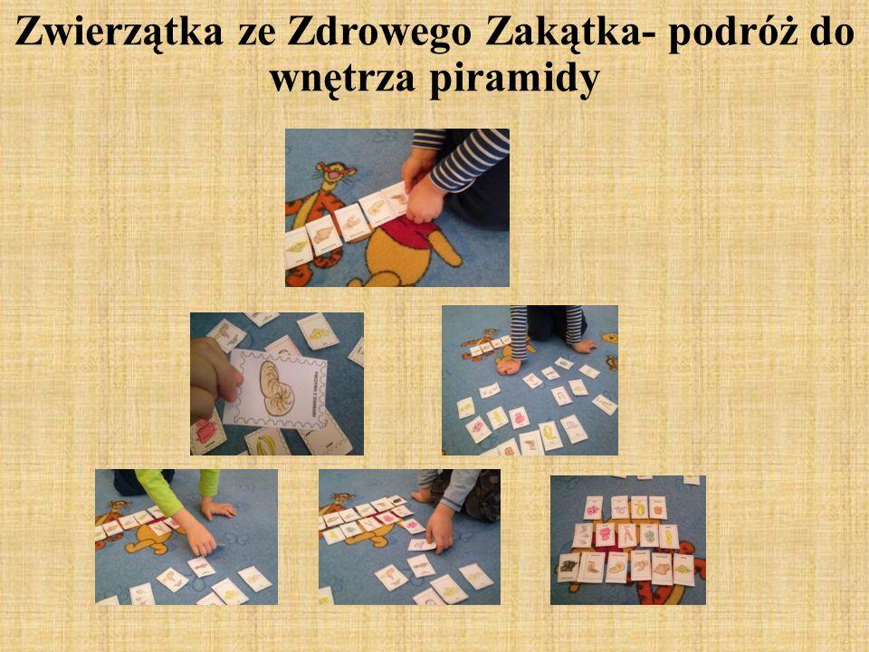 Po przeczytaniu drugiej części bajki, dzieci bez żadnego problemu odnalazły obrazki, które pozwoliły im dokończyć naszą pracę.