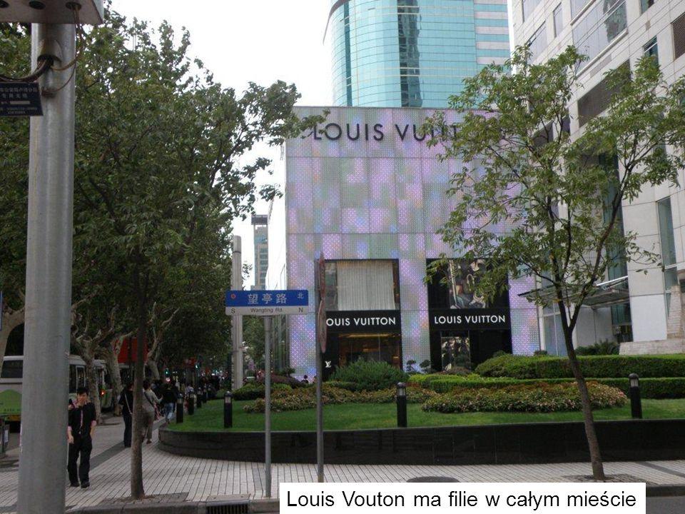 Louis Vouton ma filie w całym mieście